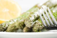 szparagowy świeży zielony naturalny Zdjęcie Stock