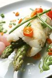 szparagowy gość restauracji piec na grillu kałamarnica Obraz Stock