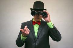 Szpieg Tajna służba Detecive agent Zdjęcia Royalty Free