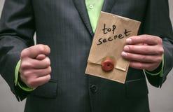 Szpieg Tajna służba Detecive agent Zdjęcia Stock