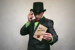 Szpieg Tajna służba Detecive agent Obrazy Royalty Free