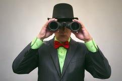 Szpieg Tajna służba Detecive agent Obrazy Stock