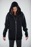 Szpieg w hoodie zdjęcia royalty free