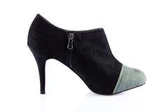 Szpilek kobiet buty na białym tle zdjęcie royalty free
