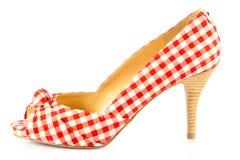 Szpilek kobiet buty na białym tle accesory zdjęcie royalty free