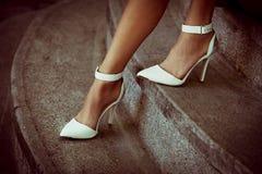 Szpilki buty obrazy stock