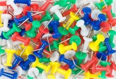 szpilki kolorowy pchnięcie Zdjęcie Royalty Free