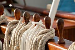 szpilki rope żeglowanie Obraz Royalty Free