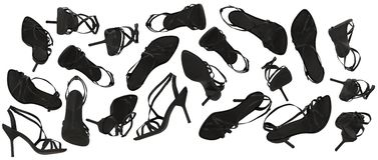 Szpilki sandały Obraz Royalty Free