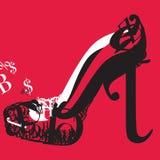 Szpilki typografia Obrazy Royalty Free