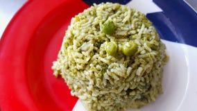 Szpinak Rice Zdjęcia Royalty Free