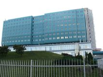 Szpital w Pancevo obrazy royalty free