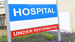 Szpitalna reforma zdjęcie stock