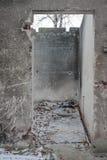 Szpitalne ruiny Zdjęcie Royalty Free