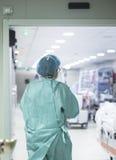 Szpitalnego oddziału izba pogotowia Obraz Stock