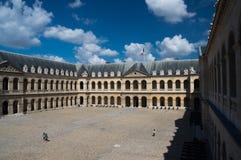 Szpitalni les invalides Paryscy Obrazy Stock