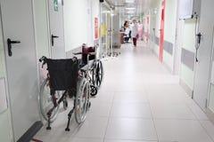 Szpitalny korytarz obraz royalty free
