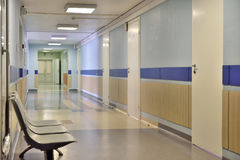 Szpitalny korytarz Zdjęcie Stock