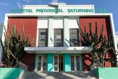 Szpitalny Małomiasteczkowy Saturnino Lora obraz royalty free