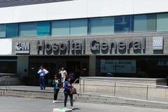 Szpitalny Universitario los angeles Paz wielki szpital w Madryt, Hiszpania zdjęcia royalty free
