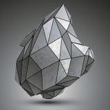 Szpotawy technologii zink przedmiot, powikłany cybernetyczny element ilustracji