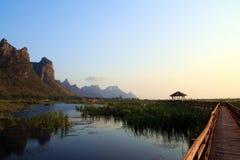 Szpuntu Bua Sam Roi Yod Tajlandia Zdjęcie Royalty Free
