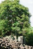 Szpuntu Mealea kasztel, Khmer kr?lestwo obrazy stock