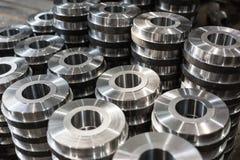 Sztabek części od kręcenia i mielenia Produkty Metalworking zdjęcia stock