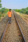 Sztachetowa droga India Fotografia Stock