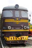 Sztachetowej drogi lokomotywa Zdjęcie Royalty Free
