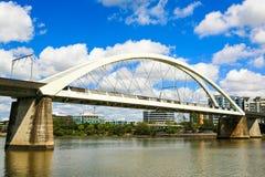 Sztachetowy most, Brisbane rzeka Zdjęcie Royalty Free