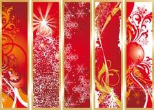 sztandarów boże narodzenia Zdjęcie Royalty Free