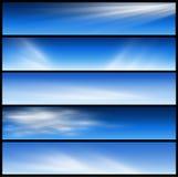 sztandarów chodnikowowie Zdjęcia Stock