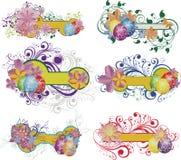 sztandarów Easter set royalty ilustracja