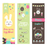 sztandarów Easter set Obraz Stock