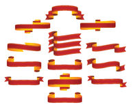 sztandarów faborków ślimacznicy Obrazy Royalty Free