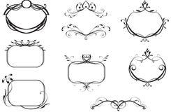 sztandarów grzebienie royalty ilustracja