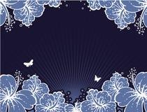 sztandarów kwiaty Obrazy Royalty Free