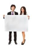 Sztandarów partnery biznesowi Obraz Stock