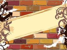 sztandar ściana Obraz Stock