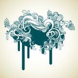 sztandar dekoracyjny ilustracja wektor