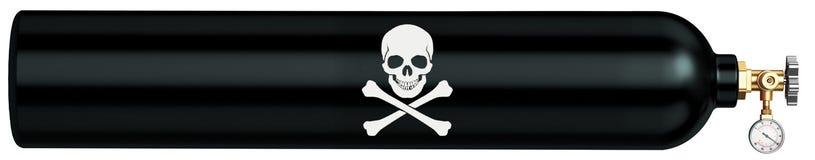Sztandar dla miejsca dla sprzedaży substancje chemiczne Zdjęcia Royalty Free