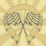 sztandar flaga ilustracja wektor