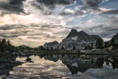 Sztandar góra Obraz Stock