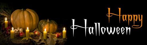 sztandar Halloween zdjęcie stock