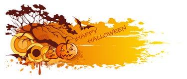 sztandar Halloween Obrazy Stock