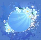sztandar kwitnie wokoło biel Fotografia Royalty Free