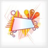 sztandar nowożytny Zdjęcie Stock