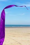 sztandar purpury Zdjęcie Stock