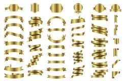 Sztandar wektorowa ikona ustawiająca na białym tle Faborek odizolowywający kształtuje ilustrację prezent i akcesorium Zdjęcie Royalty Free